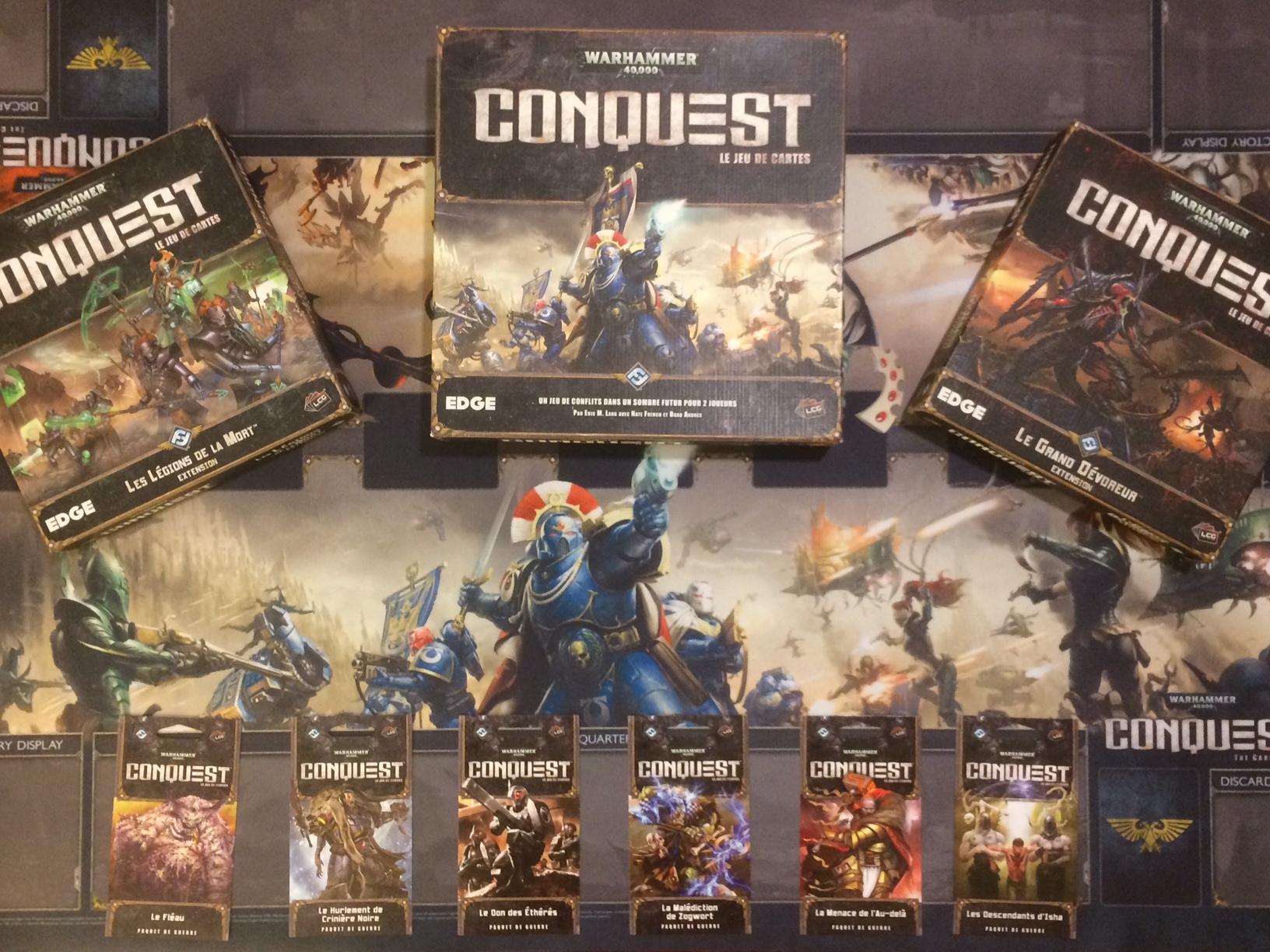 W40K Conquest : Lot complet cycle Seigneur de Guerre