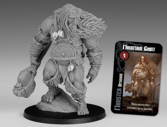 Blood Rage - Figurine Mountain Giant