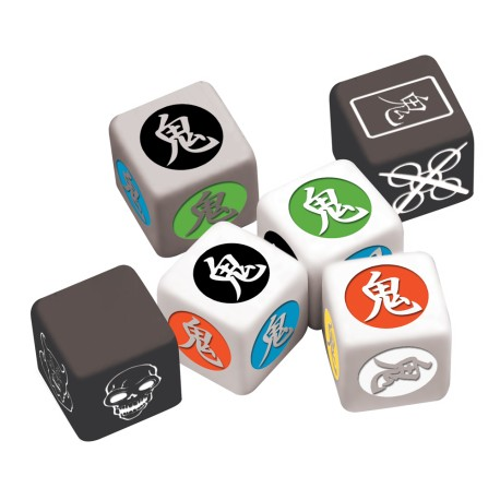 Ghost Stories : Deluxe Dice Set