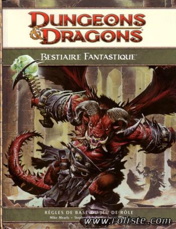 Bestiaire Fantastique D&D 4