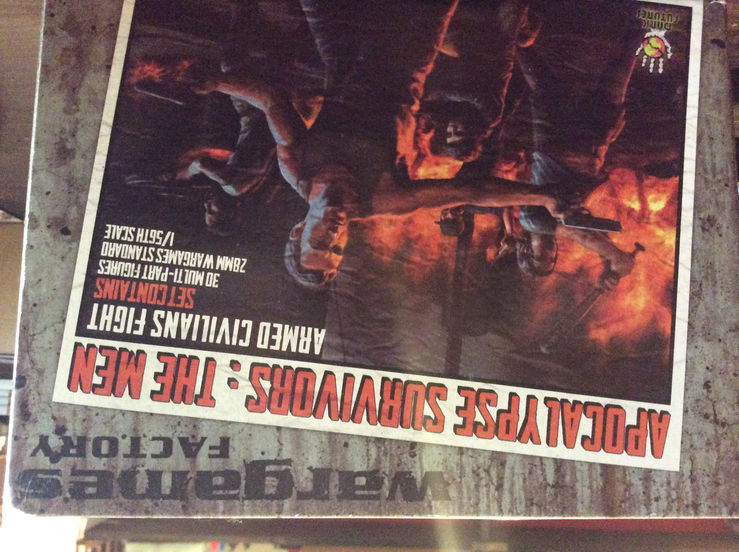 Apocalypse survivors the men