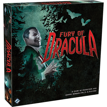 Fury of Dracula 3e édition