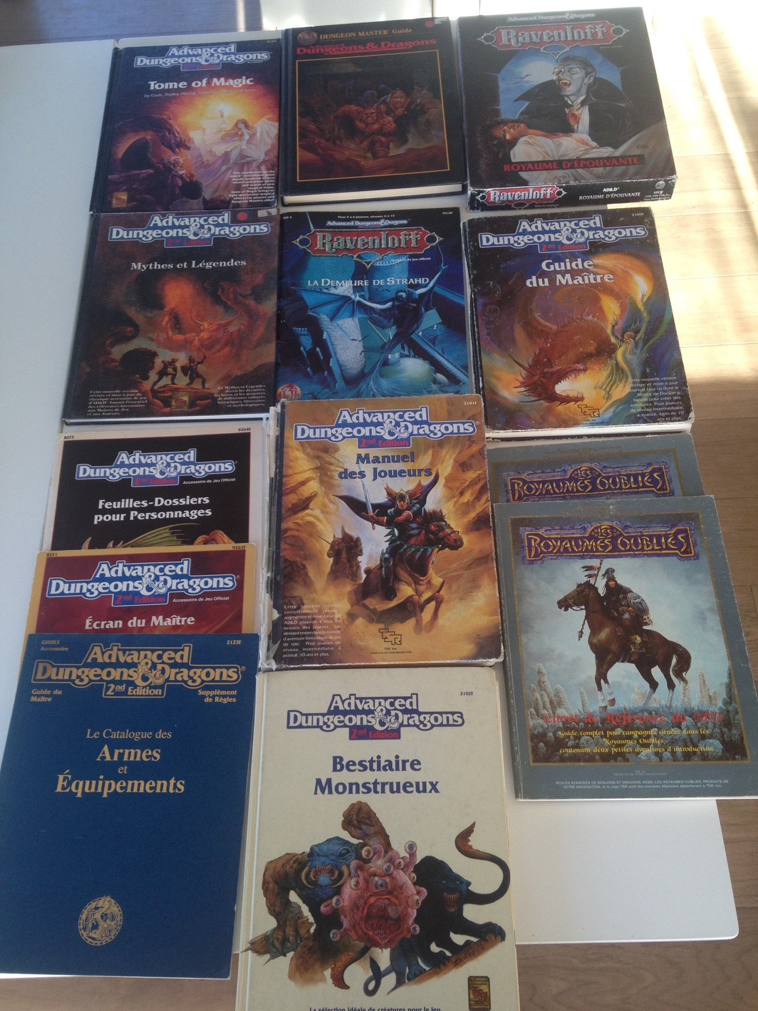 Advanced Dungeons Dragons 2eme édition