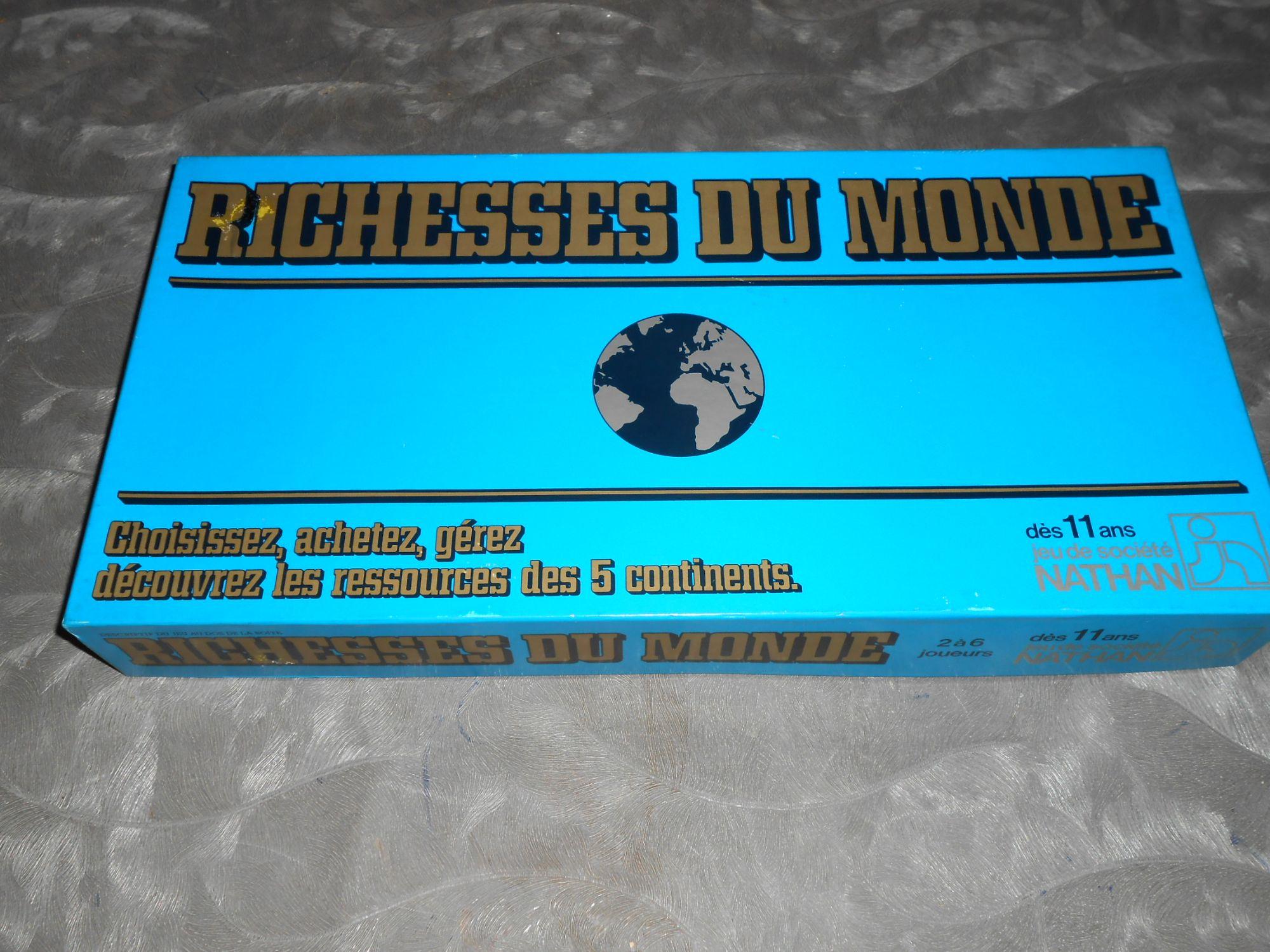 Richesses du monde - Nathan 1982