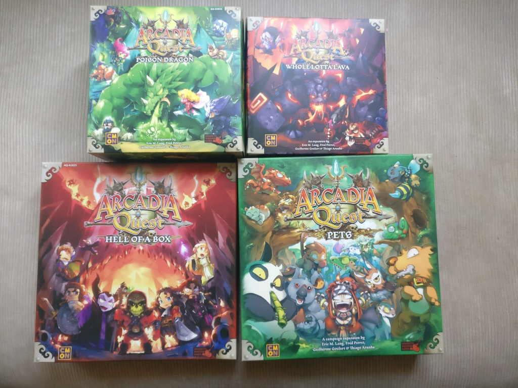 Arcadia Quest Inferno (Hell of a Box + Pets + WHWhole Lotta Lava + Poison Dragon)