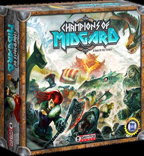 Champions of Midgard edition Kickstarter complète