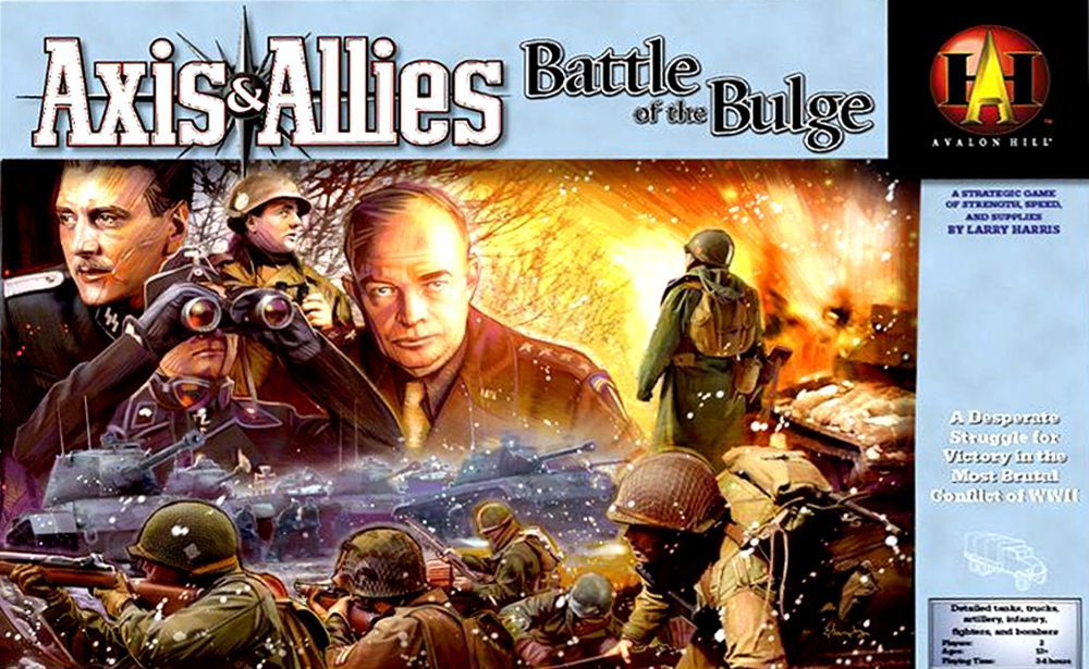 Axis And allies The bulge