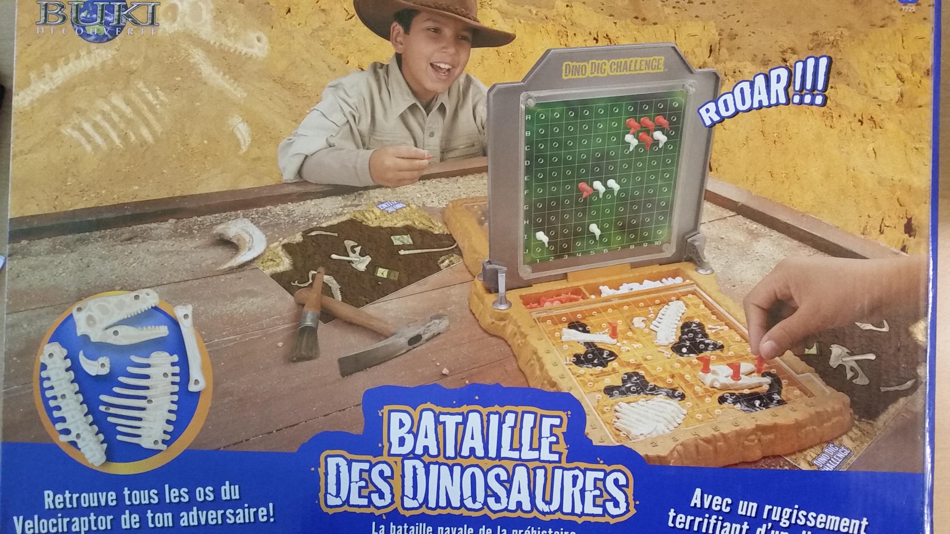 Bataille des dinosaures