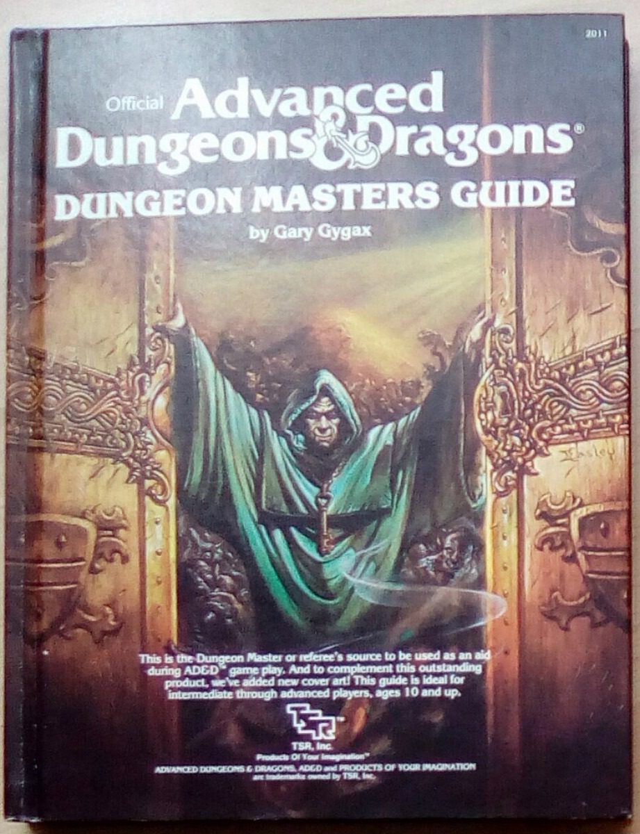 Advanced Dungeons & Dragons VO - Dungeon Masters Guide