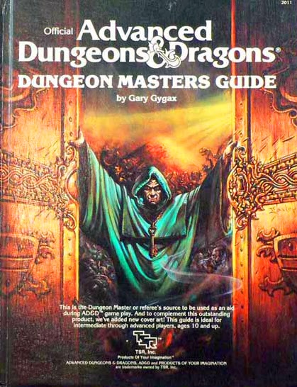 Advanced Dungeons & Dragons - 1st Edition - Dungeon Masters Guide