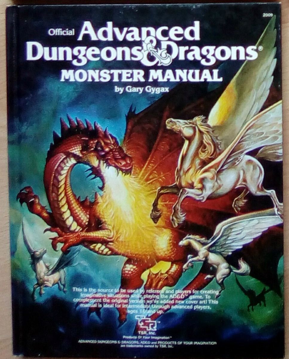 Advanced Dungeons & Dragons VO - Monster Manual