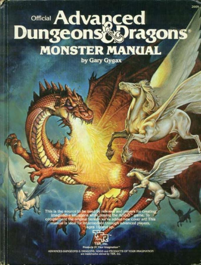 Advanced Dungeons & Dragons - 1st Edition - Monster Manual