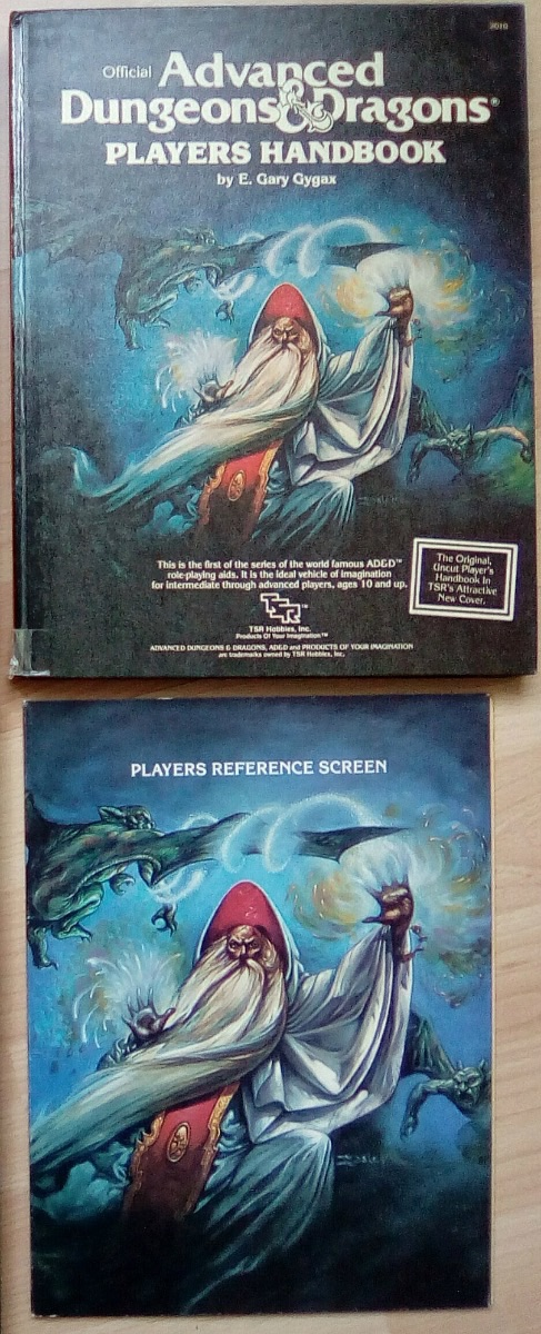Advanced Dungeons & Dragons VO - Players Handbook