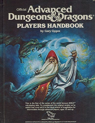 Advanced Dungeons & Dragons - 1st Edition - Players Handbook