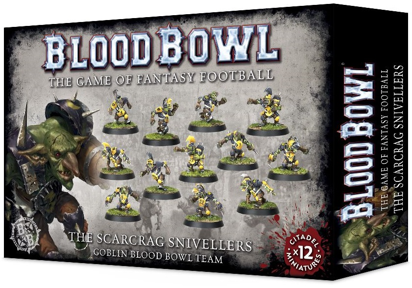 Bood bowl 2016 The Scarcrag Snivellers