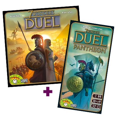 7 Wonders duel + extension Pantheon