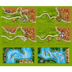 Carcassonne - Amazonas :  Tuiles supplémentaires