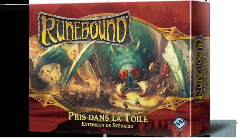 Runebound 3ème édition - Pris dans la Toile