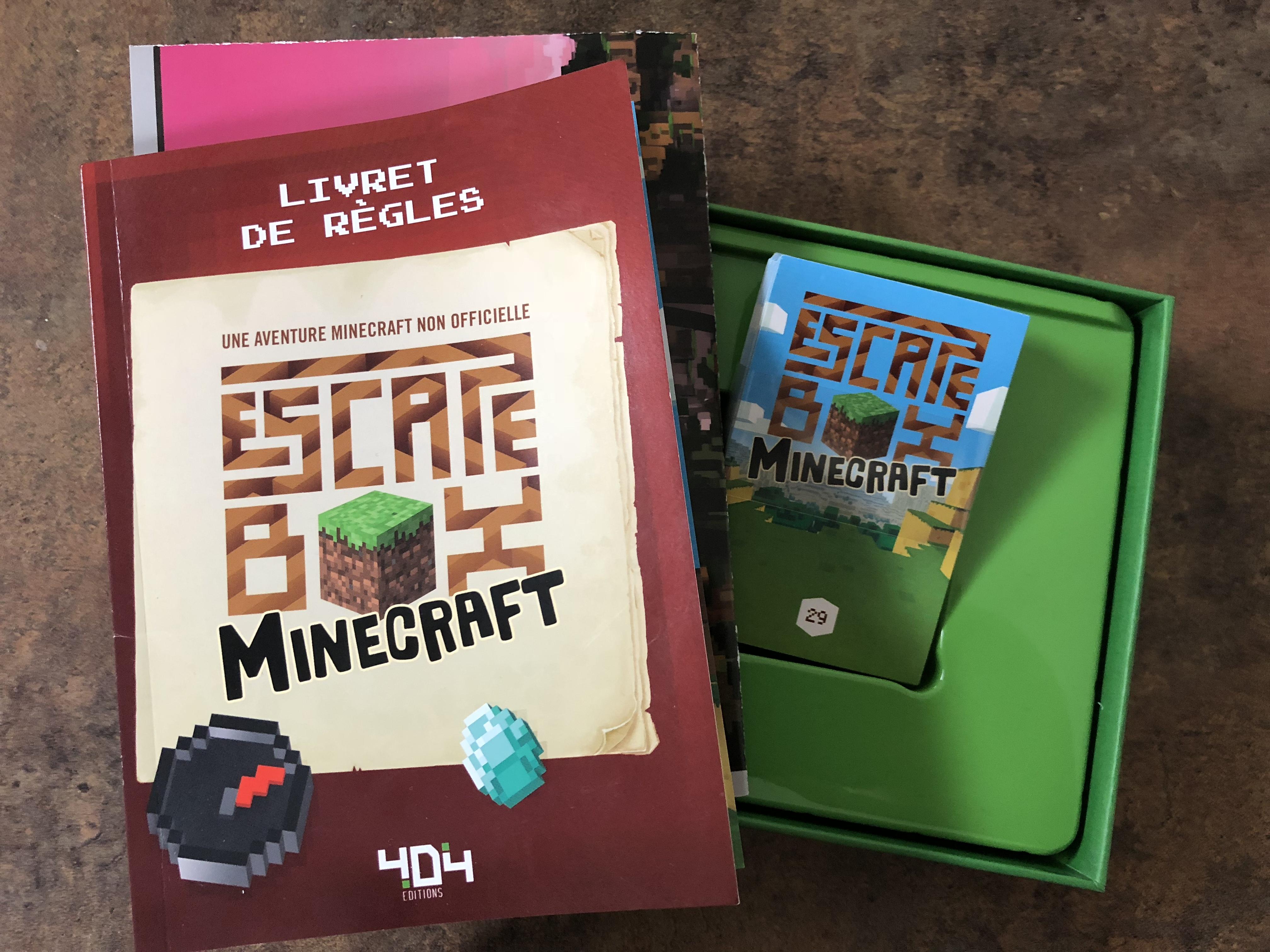 escape box - minecraft edition