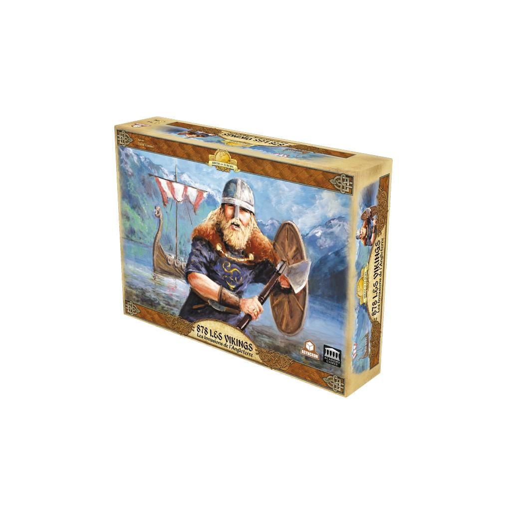 878 Les Vikings - Les Invasions de l'Angleterre