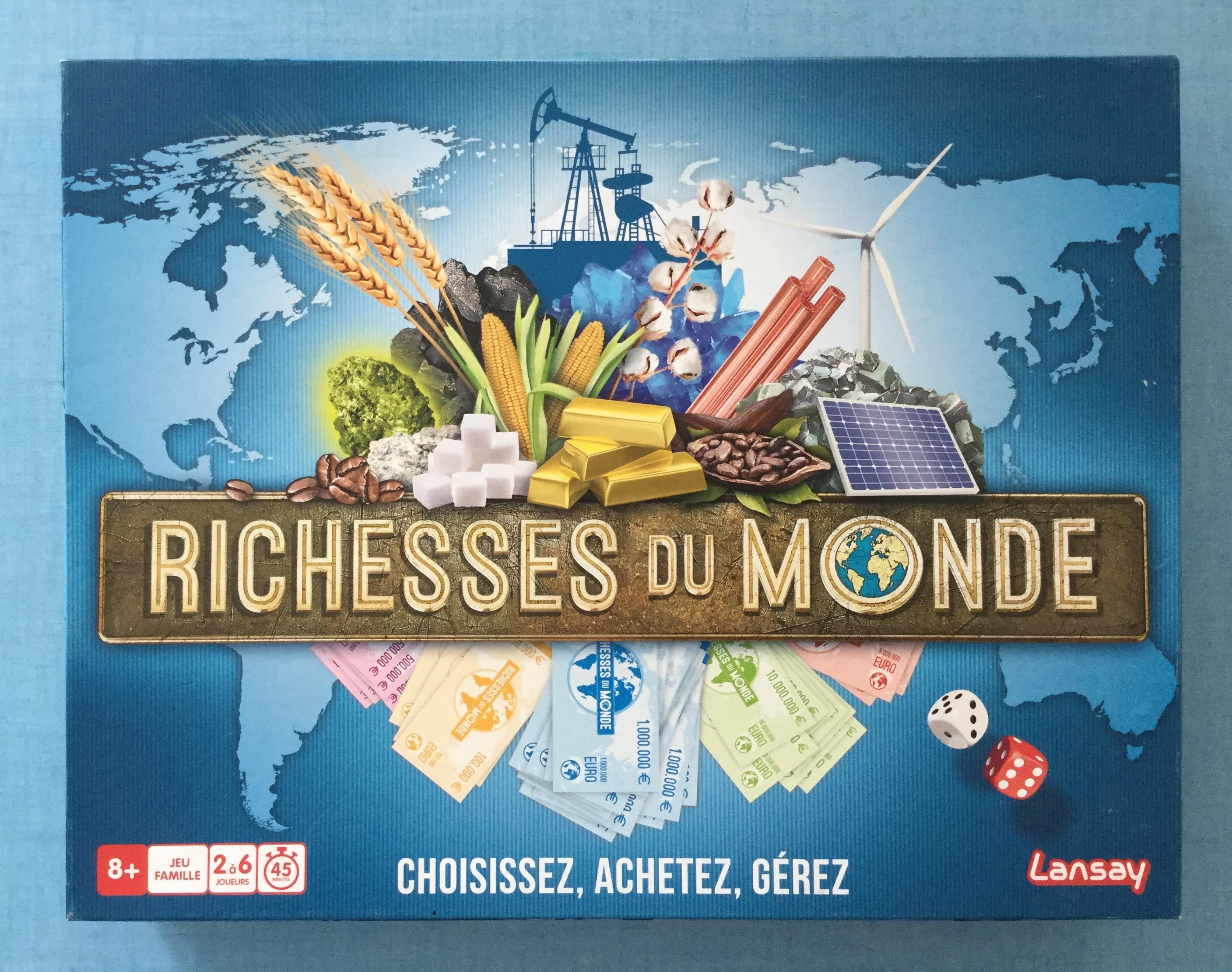 Richesses du monde Lansay