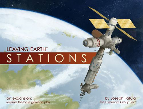 Leaving Earth - Extension Stations