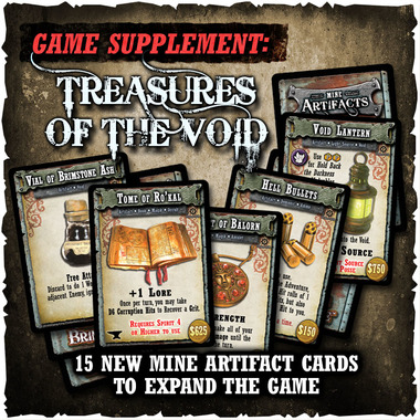 Shadows of Brimstone - Treasures of the Void - Game Supplement