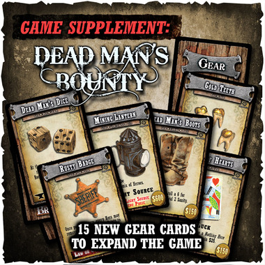 Shadows of Brimstone - Dead Man's Bounty - Game Supplement