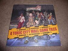 Zombicide - tiles toxic city mall