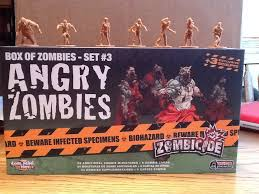 Zombicide - Box Of Zombies - Set 3 Angry Zombies