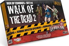 Zombicide - Box Of Zombies - Set 4 walk of the dead 2