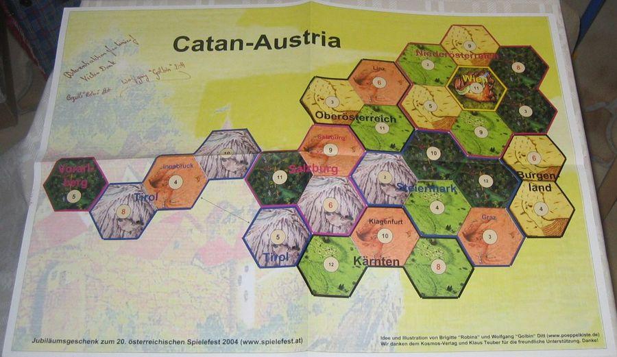Catane / Les Colons De Catane Géographie - Autriche