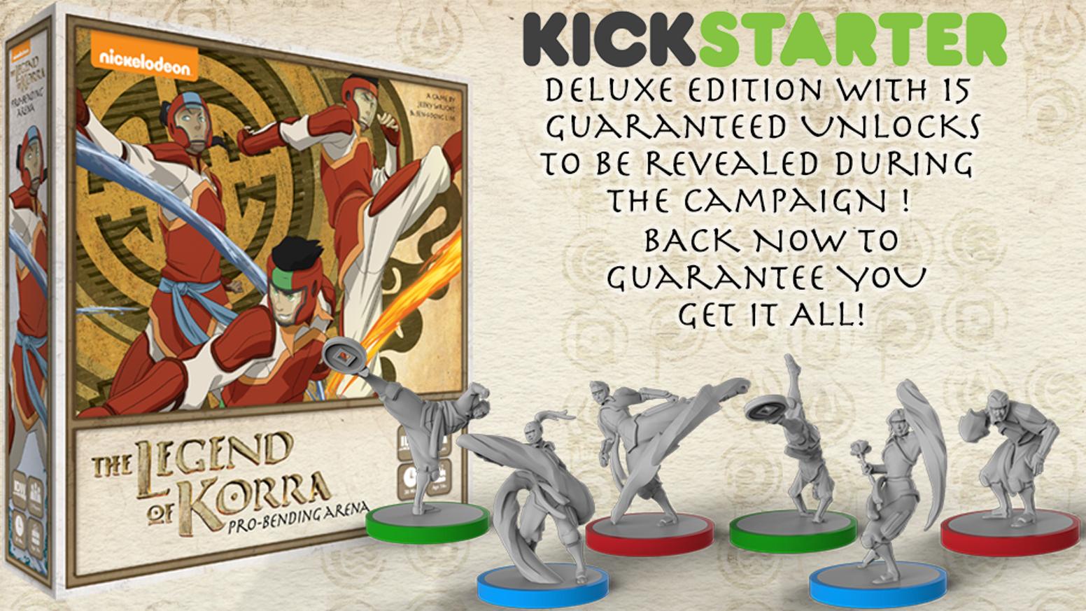 The Legend of Korra + extension Amon's invasion (exclusivité Kickstarter)
