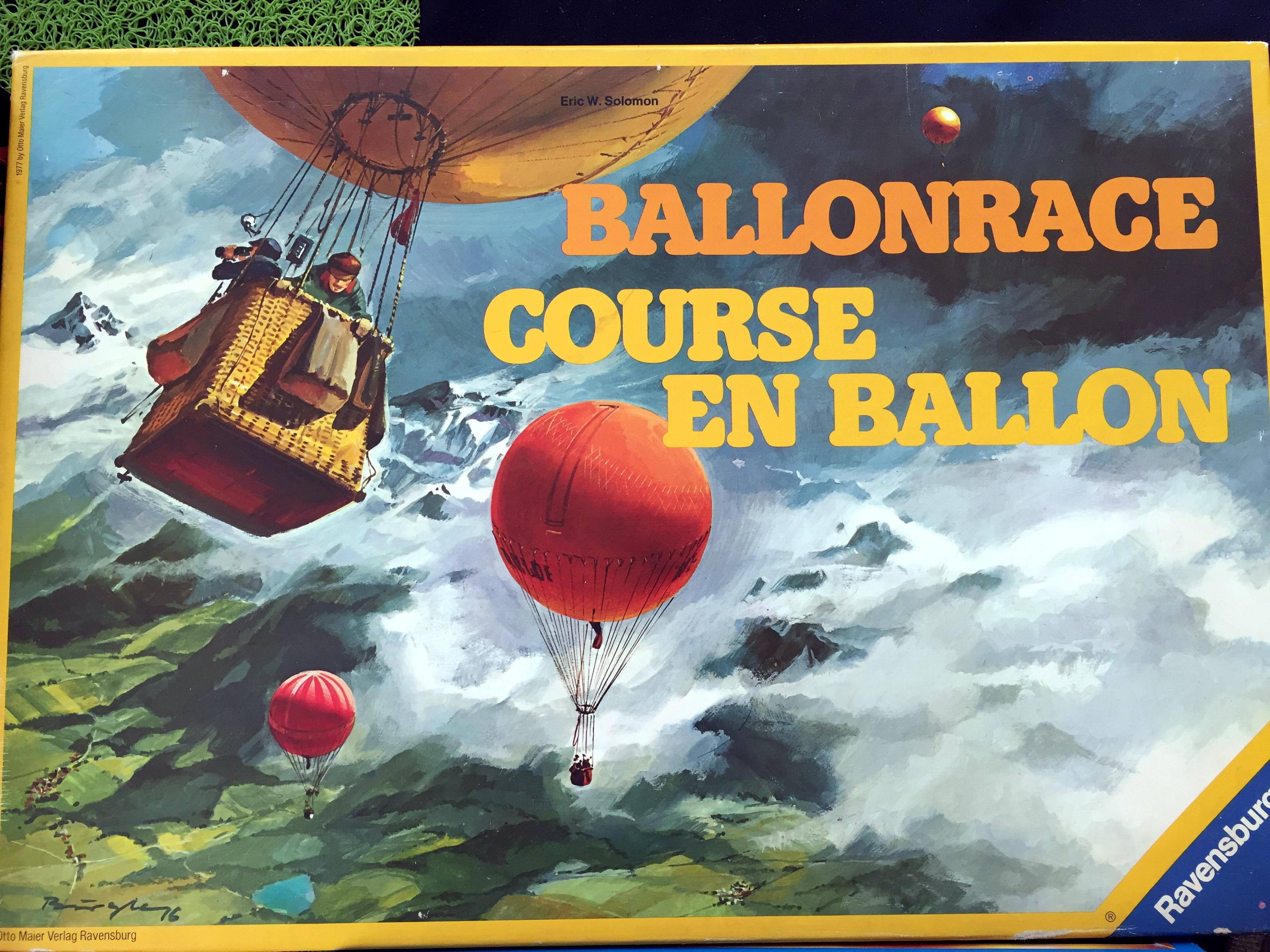 Ballonrace : Course en Ballon