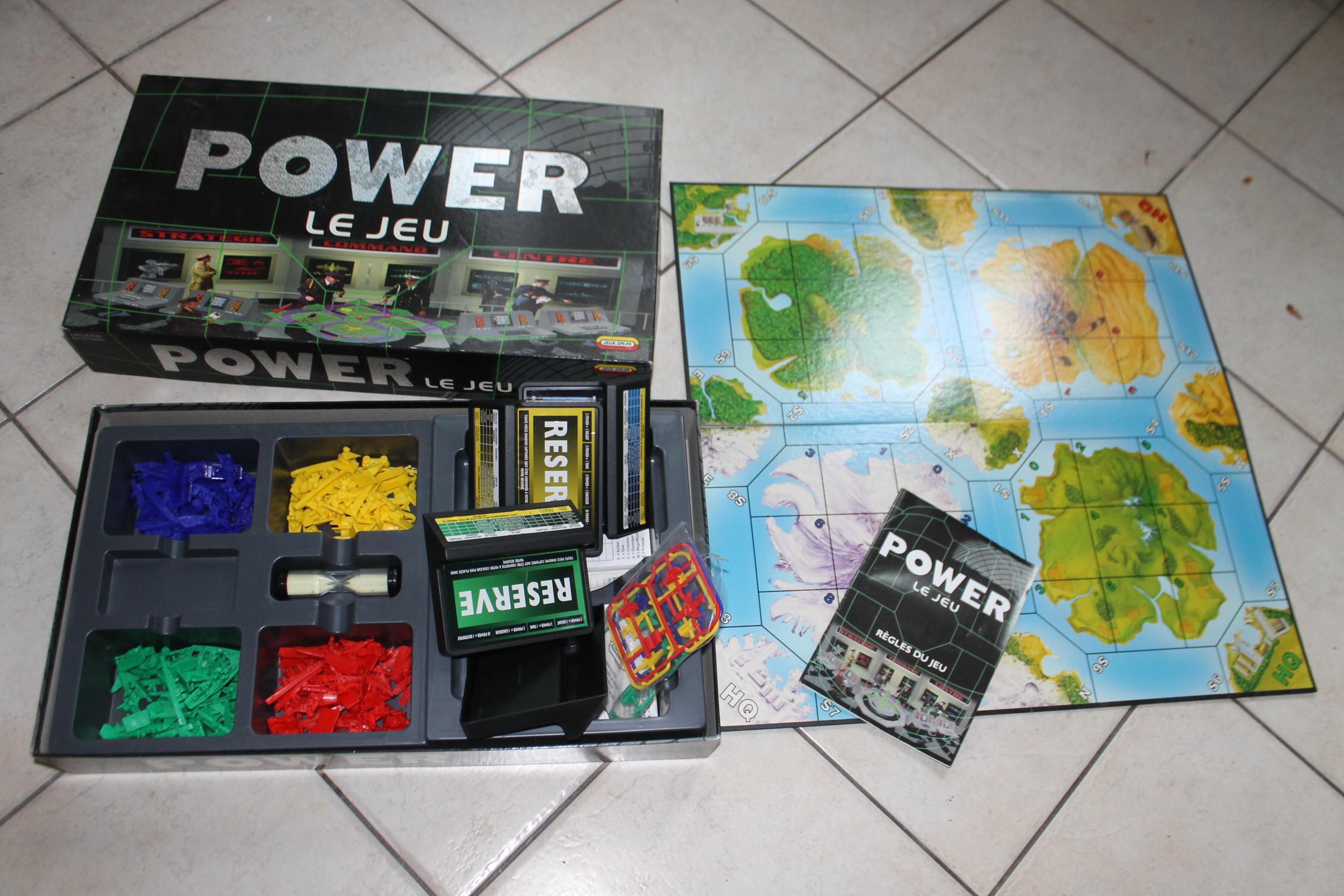 Power le jeu