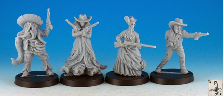 Black Scorpion Miniatures - Old west terrors