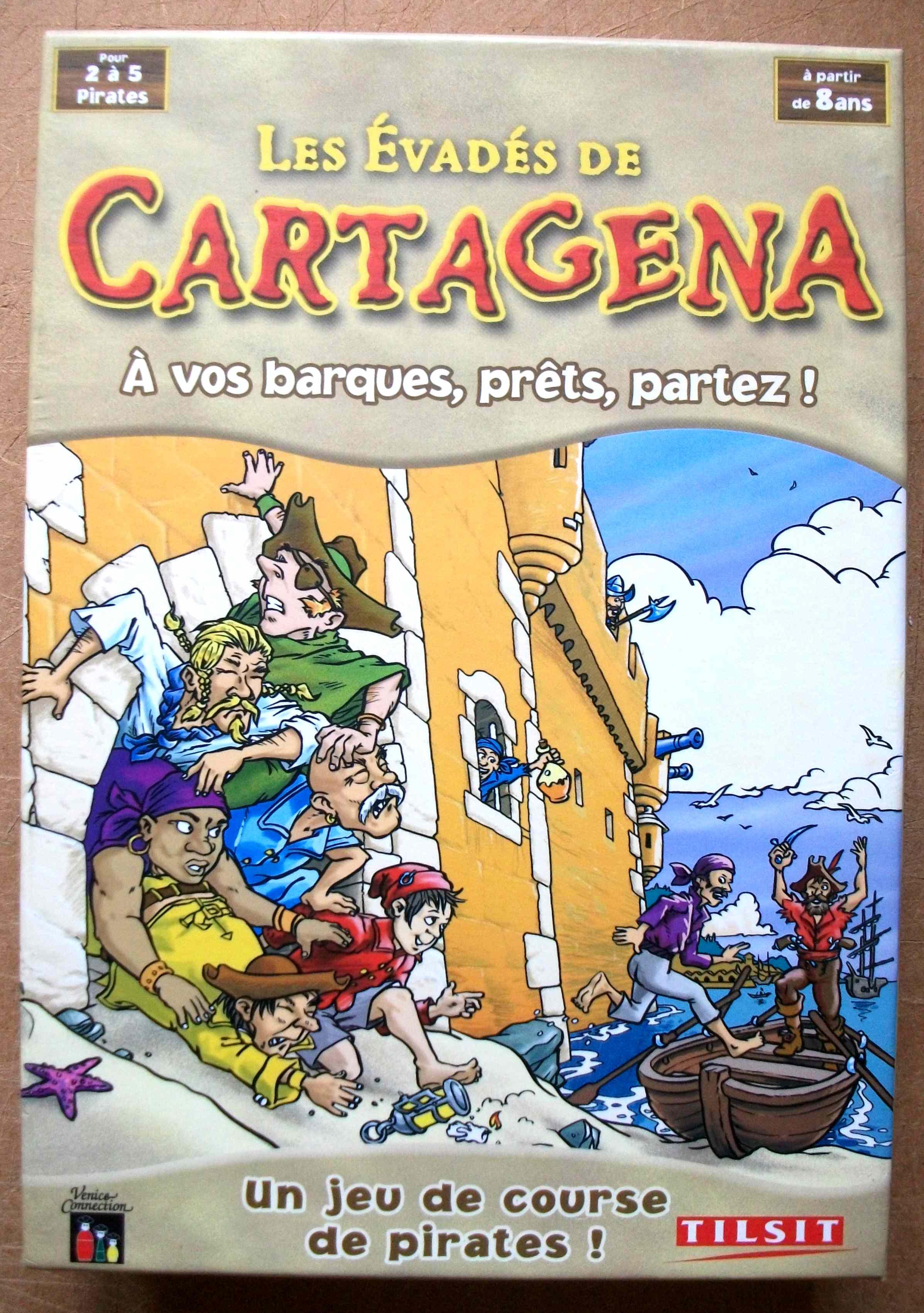 Les évadés de Cartagena (Tilsit)