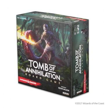 Tomb of Annihilation : le jeu de plateau