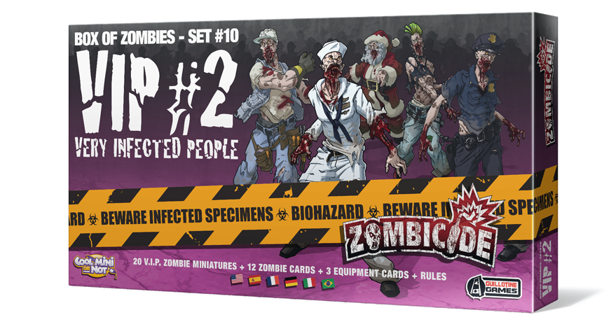 Box of Zombies - set #10 Vip #2 - Very Infected People