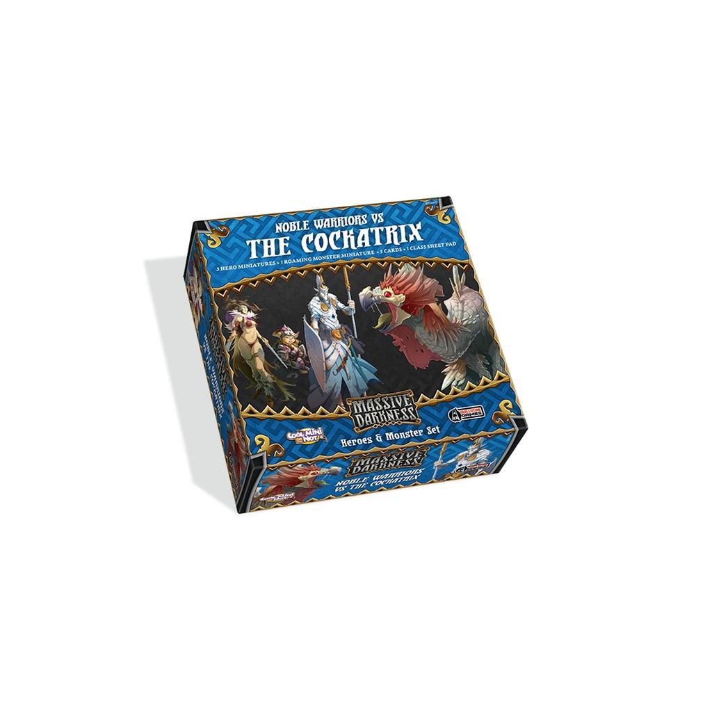 Massive Darkness - Noble Warriors vs The Cockatrix