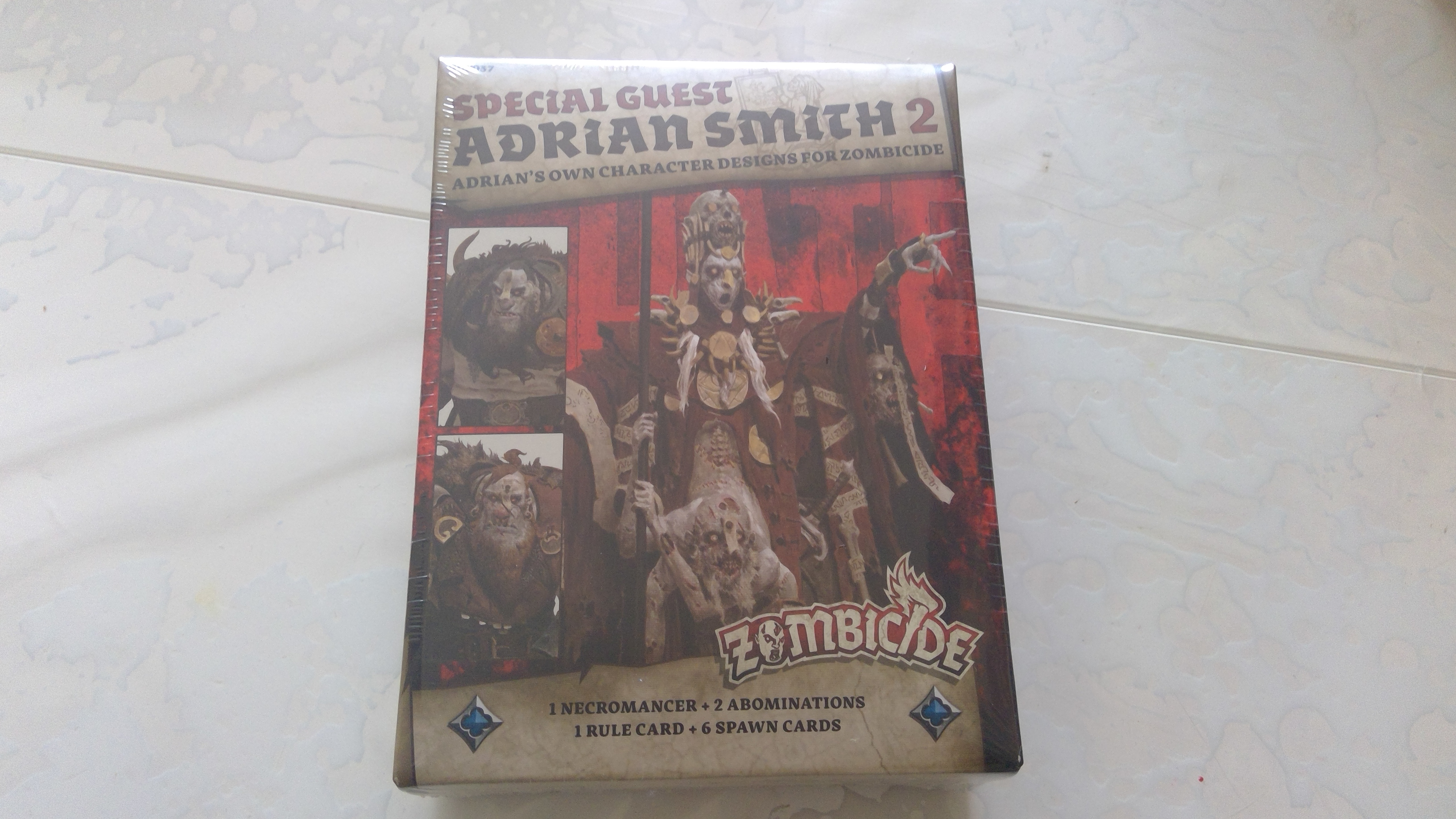 Zombicide green horde Spécial guest Adrian Smith 2