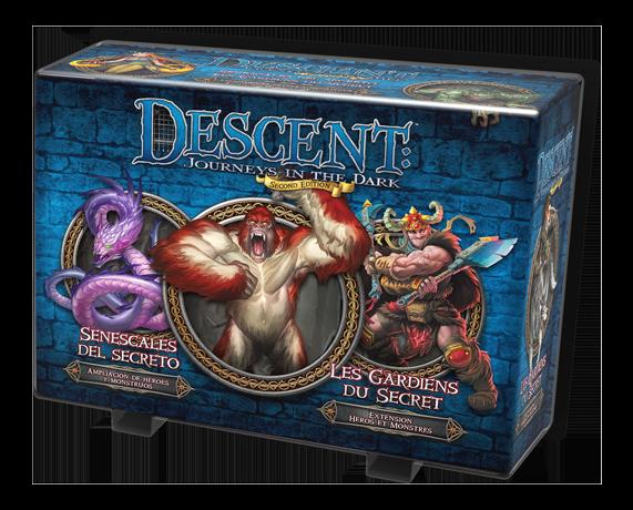 Descent - Héros & Monstres : Les Gardiens du Secret