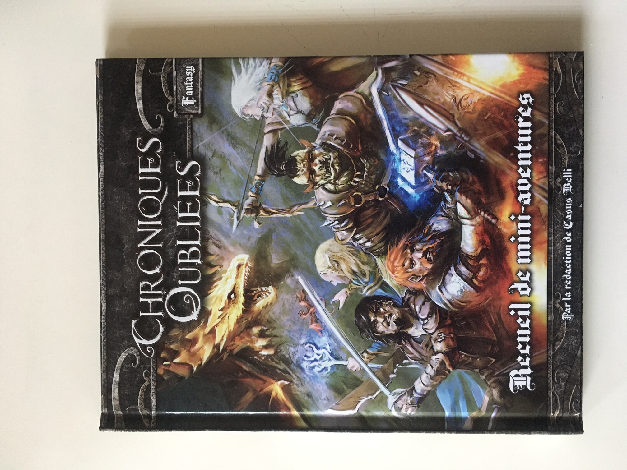 Chroniques Oubliées Fantasy - Recueil de mini-aventures