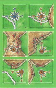 Carcassonne - Die Windrosen (La Rose des Vents)