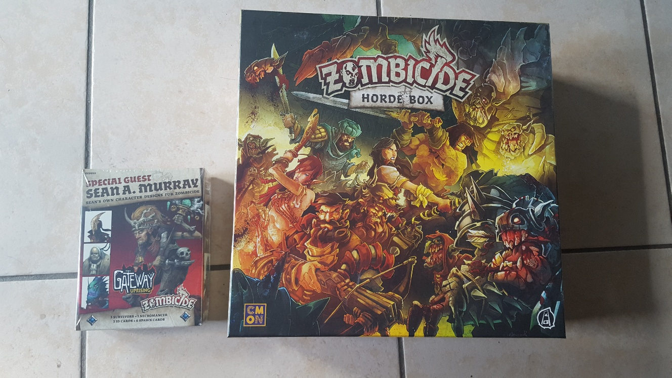 Zombicide Horde Box + Special Guest Sean A. Murray