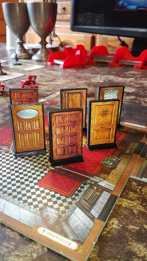 Accessoires portes pour demeures de l'épouvante