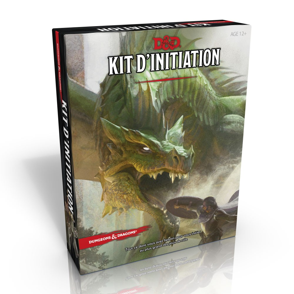 Dungeons & Dragons - 5ème Edition VF - Kit d'initiation