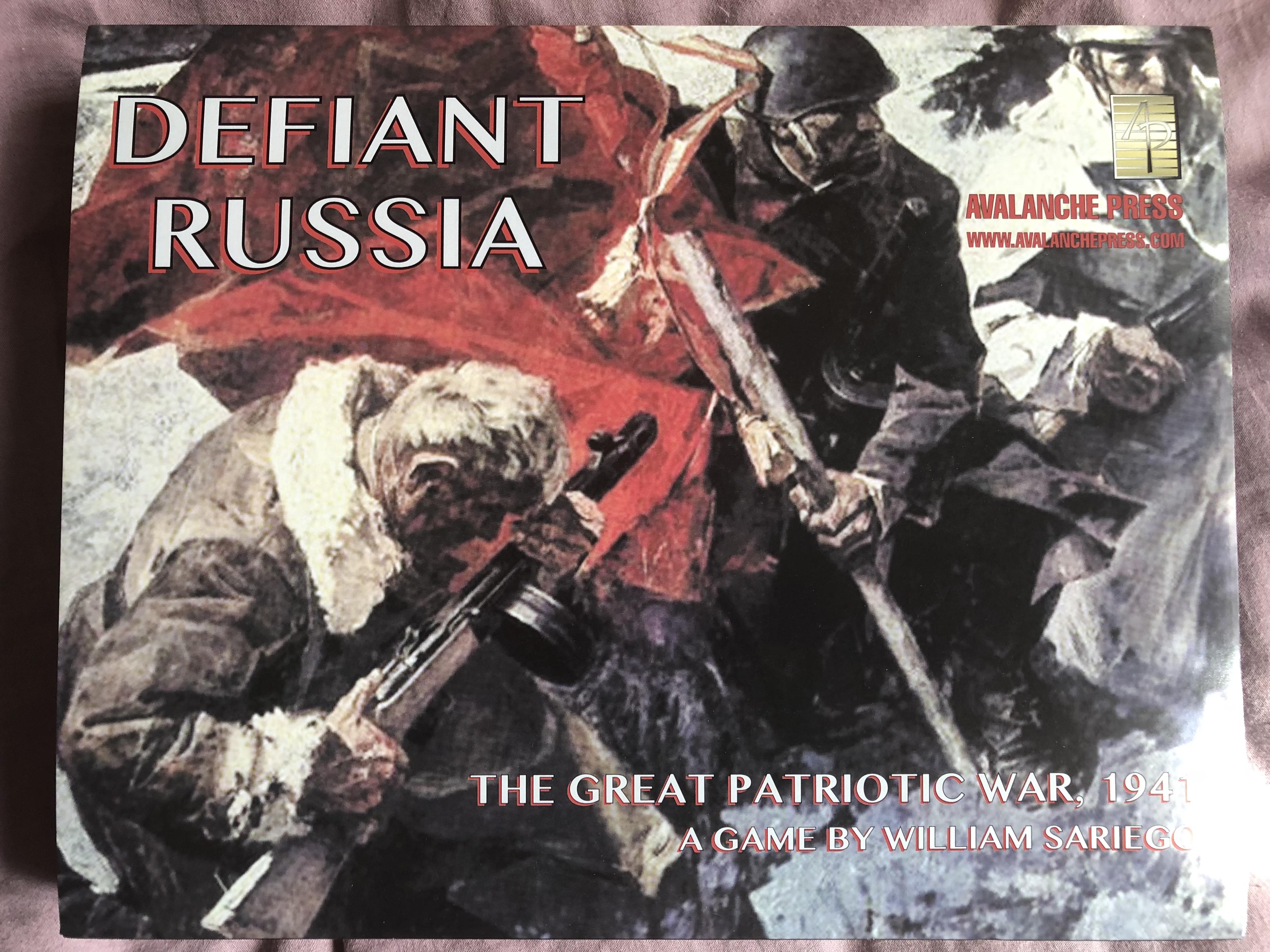 Defiant Russia