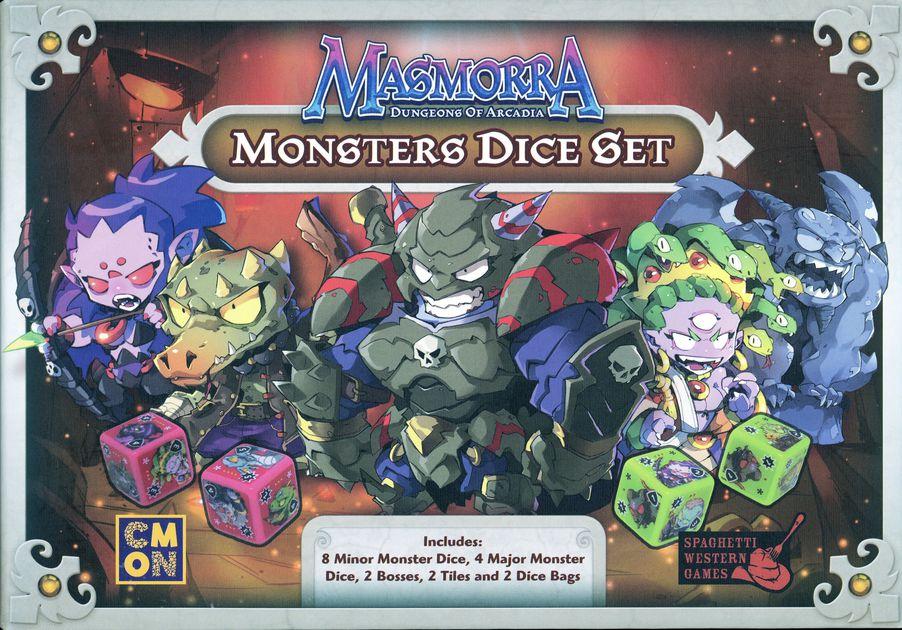 Arcadia Quest Monster Dice Set