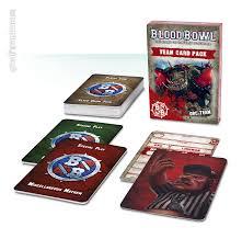 Blood Bowl 2016 - Gros pack de cartes
